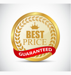 Best price golden label vector
