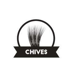 Black icon on white background kitchenware vector