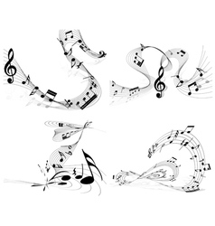 Music set vector