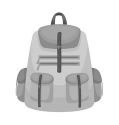 a backpack for thingstent single icon in vector image vector image