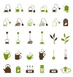 Coffee and tea cup icon vector