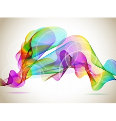 colorful abstraction vector image vector image