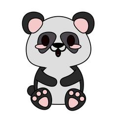 cute animal cartoon icon image vector image