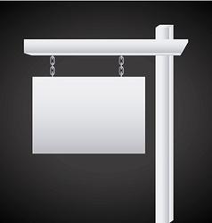 label fence design vector image
