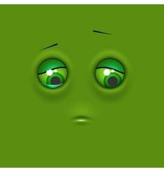 Sad emoticon emoji vector image