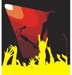 solo guitar vector image vector image