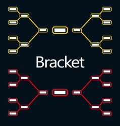 Bracket vector image