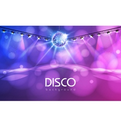 Disco ball abstract background vector