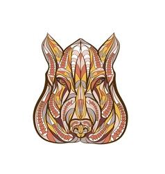 ethnic boar vector image