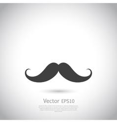mustache - icon vector image vector image