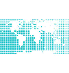 World map atlas dot circle vector