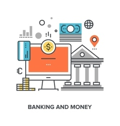 Banking and money vector