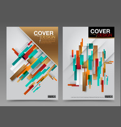 Cover design abstract number one master vector