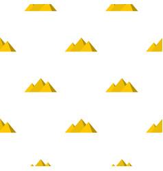 Egyptian giza pyramids pattern seamless vector