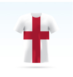 England flag t-shirt vector