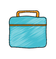 Gym bag icon vector