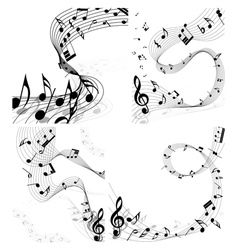 music set vector image