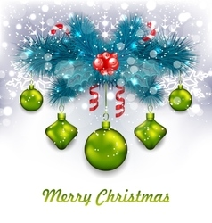 Christmas traditional decoration vector