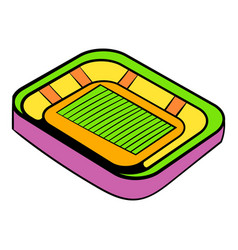 football stadium icon icon cartoon vector image vector image