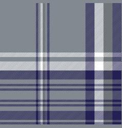 Gray diagonal plaid seamless pattern vector