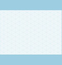 Isometric Grid Graph Paper Background Vector ...
