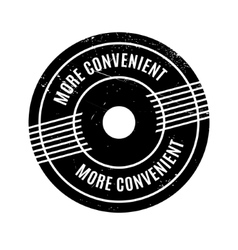 More convenient rubber stamp vector