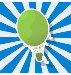 The fantastic Hot Air Balloon vector image