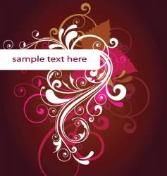 abstract template vector image vector image