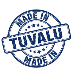 made in tuvalu vector image