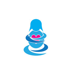 Pregnant logo vector