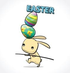 Rabbit easter 5 vector