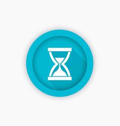 sand clock hourglass icon symbol vector image vector image
