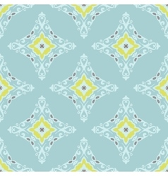 Abstract seamless damask pattern for fabric vector