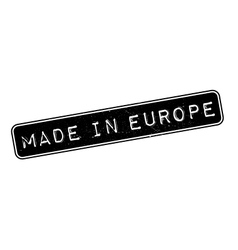 Made in europe rubber stamp vector