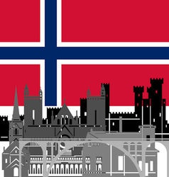 Norway vector