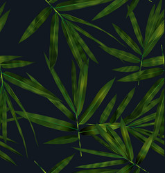 Bamboo leaf pattern vector