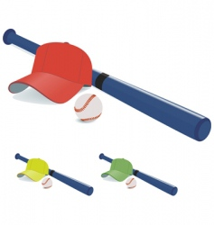 batter equipment vector image