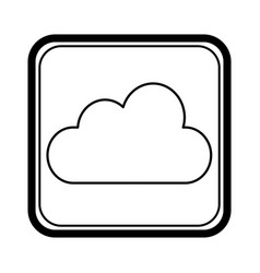 climate application isolated icon vector image