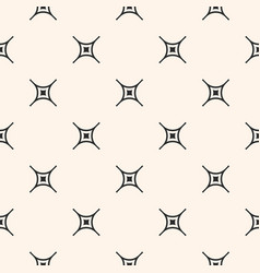 minimalist seamless pattern with crosses vector image vector image