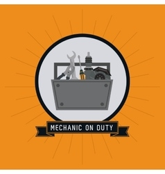 Tools kit auto rapair icon graphic vector