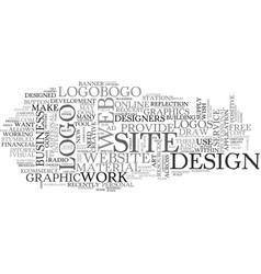 web design free development tool text word cloud vector image