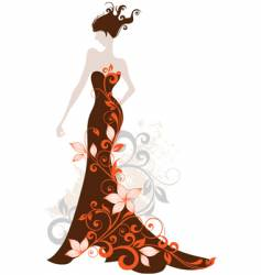 Fashion floral vector