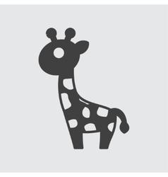 Giraffe icon vector