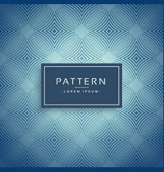 Elegant blue pattern design background vector