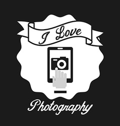 Photography design vector