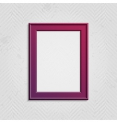Vinous picture frame with text vector image
