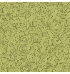 Abstract doodle threads seamless pattern Retro vector image vector image