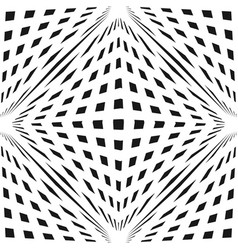 cubic 3d geometric checkered seamless pattern vector image