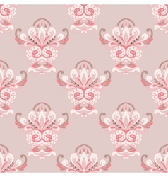 Damask luxury royal classic pattern vector