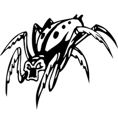 spider - halloween set - vector image vector image
